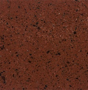Environite Countertops - Vittriu Colours MORE ROCKIN RED